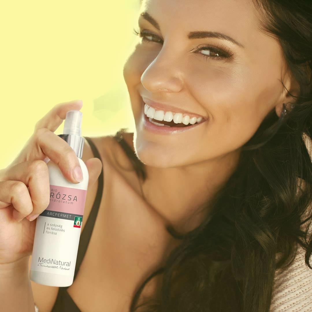 Arcpermet- azonnali extra hidratálás a bőrnek
