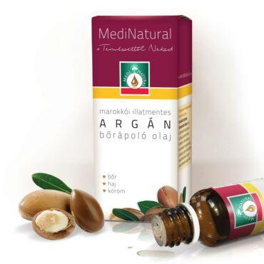 MediNatural marokkói Argán bőrápoló olaj (20ml)