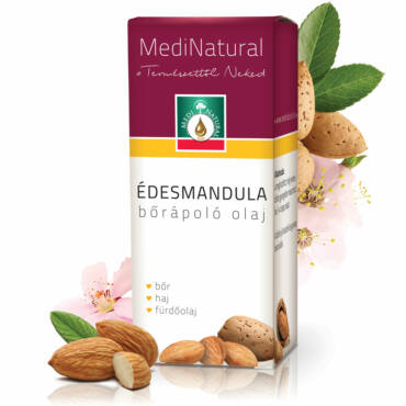 MediNatural Édesmandula bőrápoló olaj (20ml)