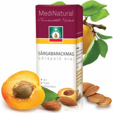 MediNatural Sárgabarackmag bőrápoló olaj (20ml)