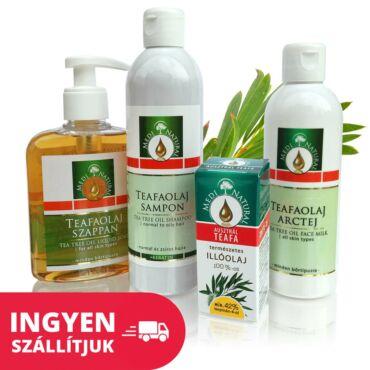 Natúr Teafaolajos csomag - problémás bőrre és zsíros hajra