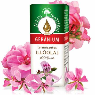 MediNatural Geránium illóolaj (10ml)