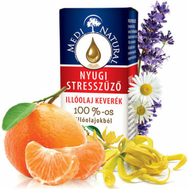 MediNatural Nyugi Stresszűző illóolaj keverék (10ml)