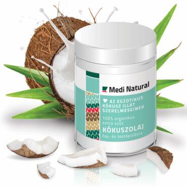 MediNatural organikus szűz kókuszolaj