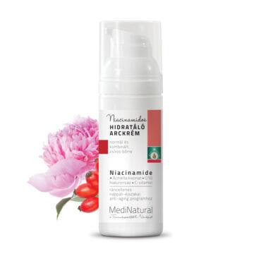 MediNatural  Niacinamidos hidratáló arckrém