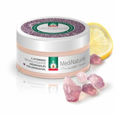 MediNatural C-vitaminos feszesítő krémpakolás Hialuronsavval