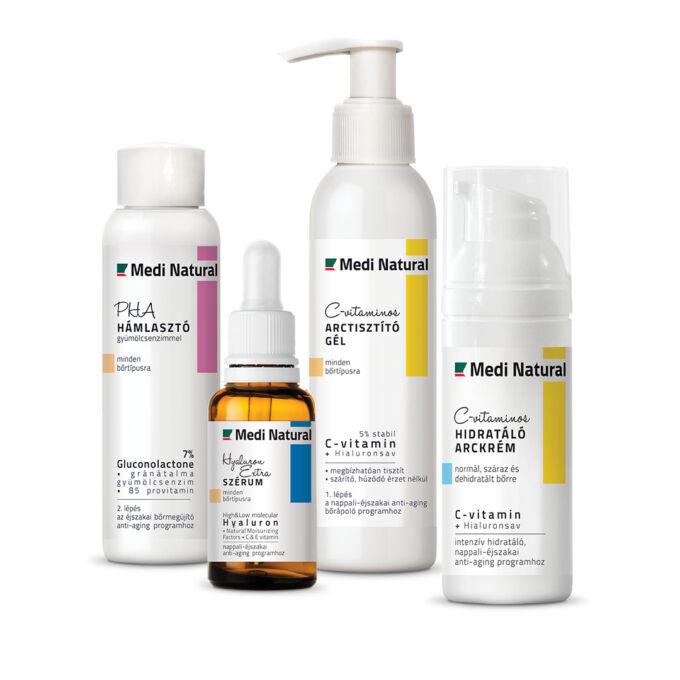prémium arcápolási rutin száraz bőrre