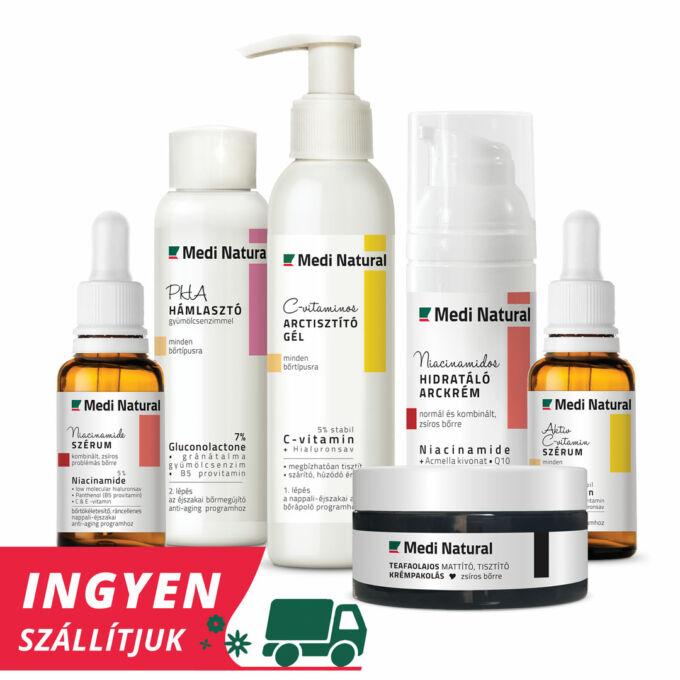 premium plusz arcápolási rutin zsíros bőrre