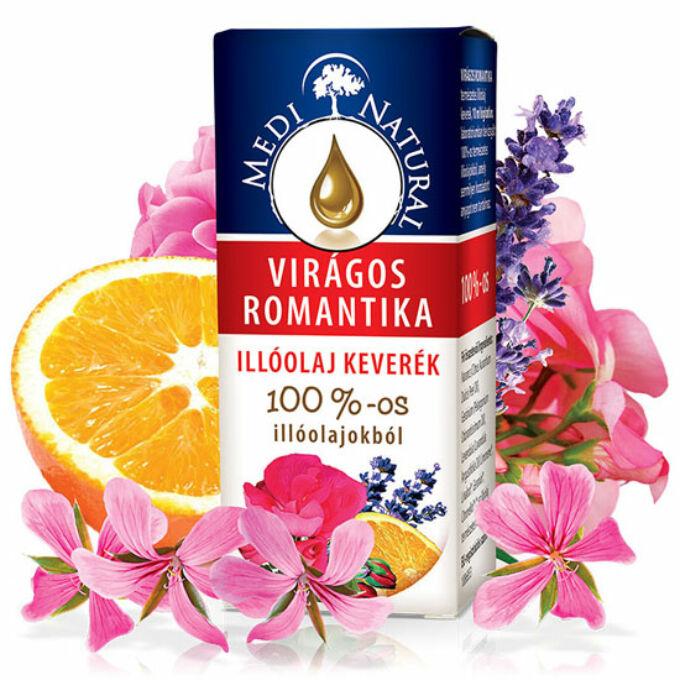 MediNatural Virágos Romantika  illóolaj keverék (10ml)