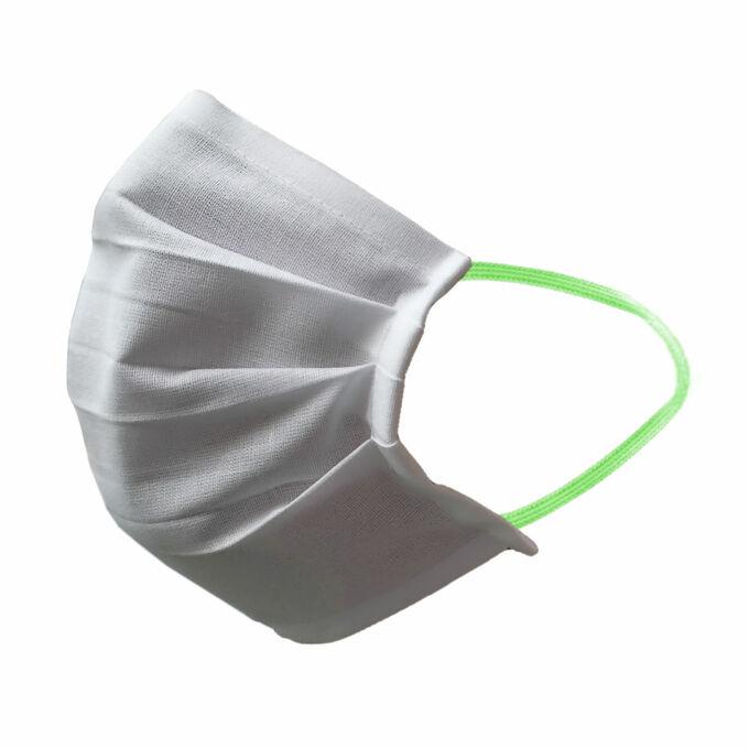 Textil szájmaszk gumipánttal   mosható